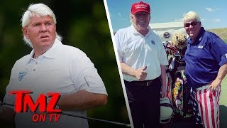 President Trump Praises John Daly After Golf Outing, 'A Special Guy' | TMZ TV