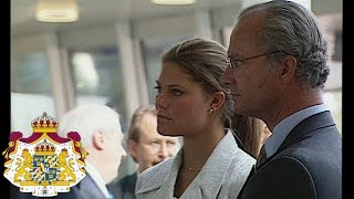 Kungaparet och Kronprinsessan på statsbesök till Finland 1996