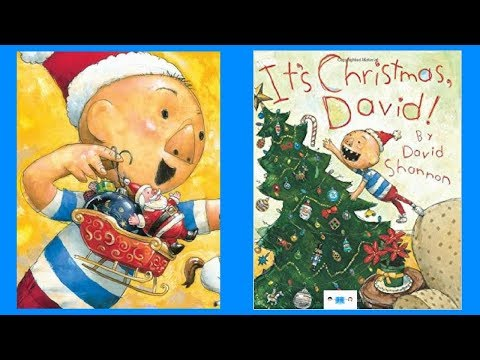 It's Christmas, David! Book Read Aloud Audio Children's Book By David Shannon