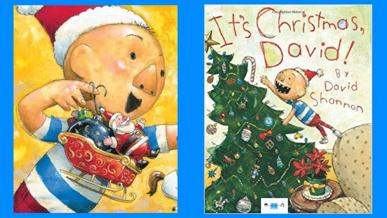 It S Christmas David Book Read Aloud Audio Children S Book By David Shannon Youtube
