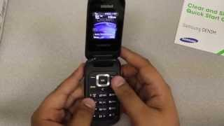 New Cricket Samsung Denim Flip phone Unboxing and Review