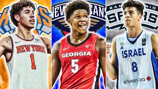 2020 NBA Mock Draft Lottery Simulator 2 | Who Will Land Lamelo Ball?