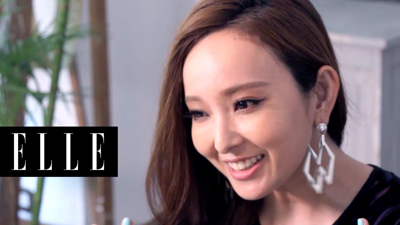ELLE 風格美妝桌 | 愛紗 粉紅心情保養法 - YouTube
