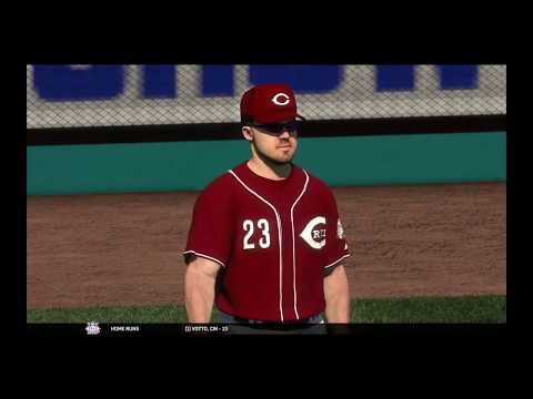 MLB the show 17 Franchise : Dodgers at Reds
