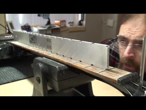 Guitar Fret Leveling // How To Tutorial