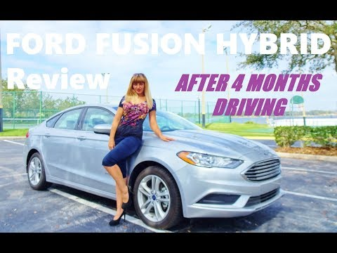 FORD Fusion Hybrid Review 2018, After 4 Months Driving!