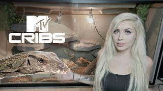 Hey MTV Welcome to My Lizard's Crib (HUGE Cage Tour)