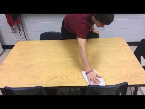 How To: Wipe a Table
