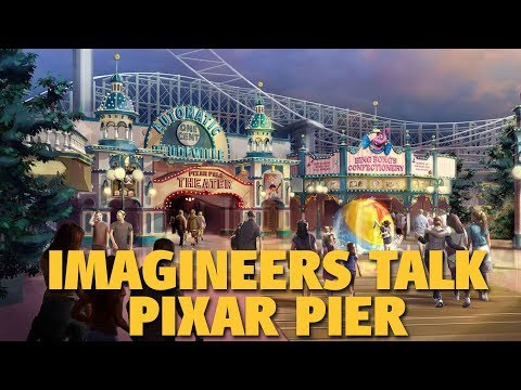 Imagineers Talk Pixar Pier | Disney California Adventure