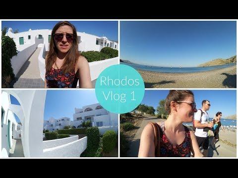 Rhodos Vlog 1  Was war bei mir los? Und wo gehts zum Stand?
