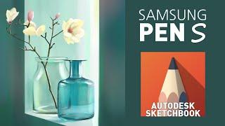 삼성노트북으로 그림그리기(정물화)/Samsung PEN…