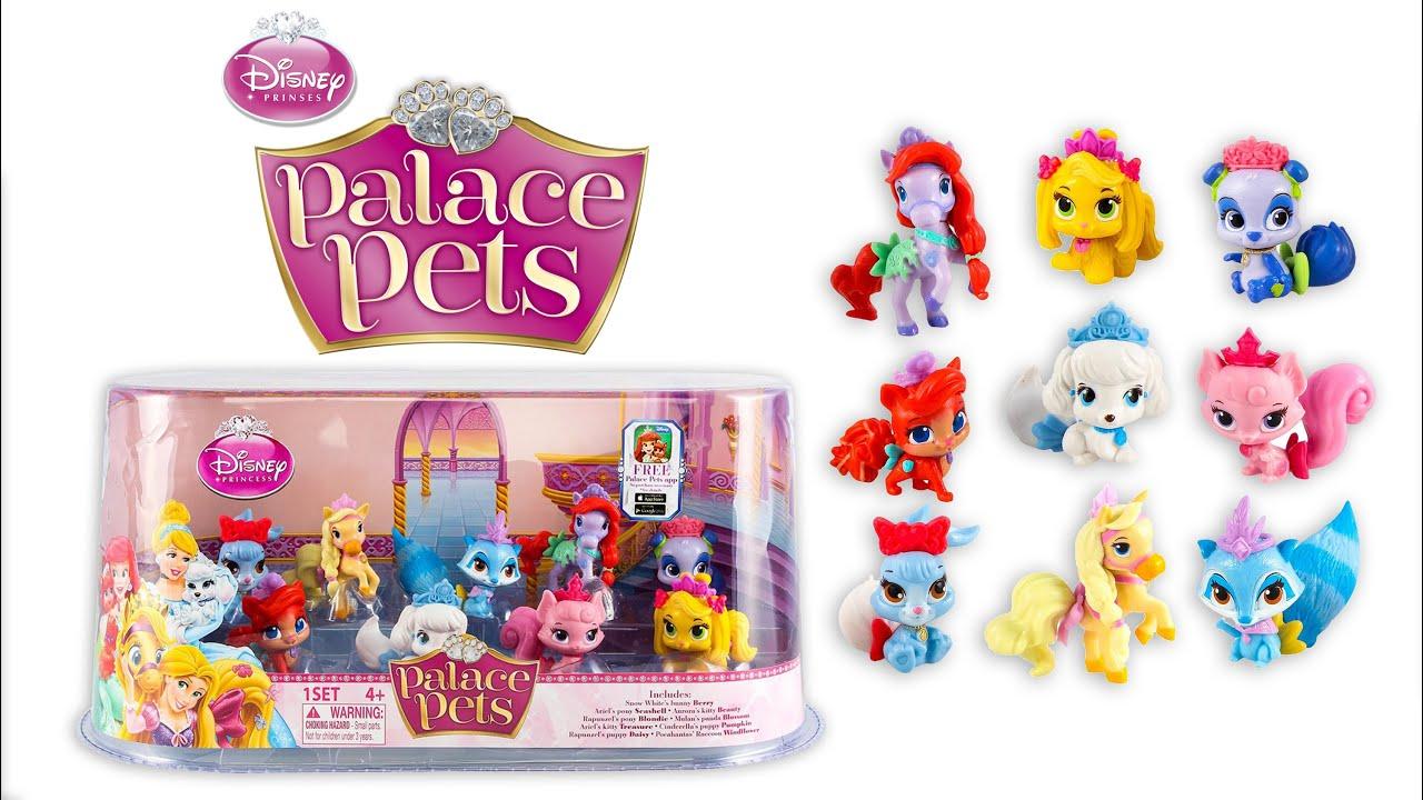 dc9afe6aab5 PALACE PETS DISNEY PRINCESS TOYS PLAY DOH - YouTube