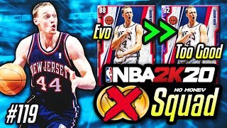 NO MONEY SPENT SQUAD!! #119 | This BUDGET EVO Card Is TOO GOOD In NBA 2K20 MyTEAM?