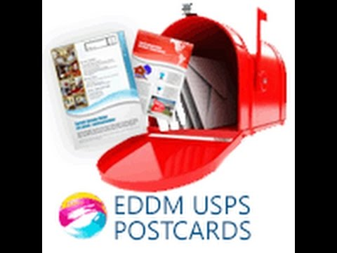 Cheap EDDM (Every Door Direct Mail) Postcard Printing Services For USPS by 55printing.com
