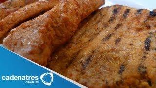 Receta Para Preparar Filete De Cerdo Con Salsa De Piña Al Achiote. Receta De Filete De Cerdo