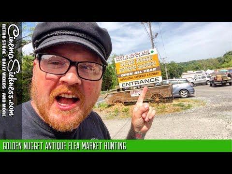 Golden Nugget Antique Flea Market Hunting