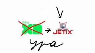 закрытие Disney XD Россия и открытие Jetix Russia(фейк)