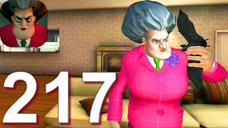 Scary Teacher 3D - Gameplay Walkthrough Part 217 5 New Levels (Android,iOS)