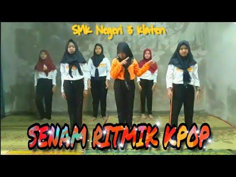 Senam Ritmik Kpop (BTS, EXO, Super Junior) SMK Negeri 3 Klaten