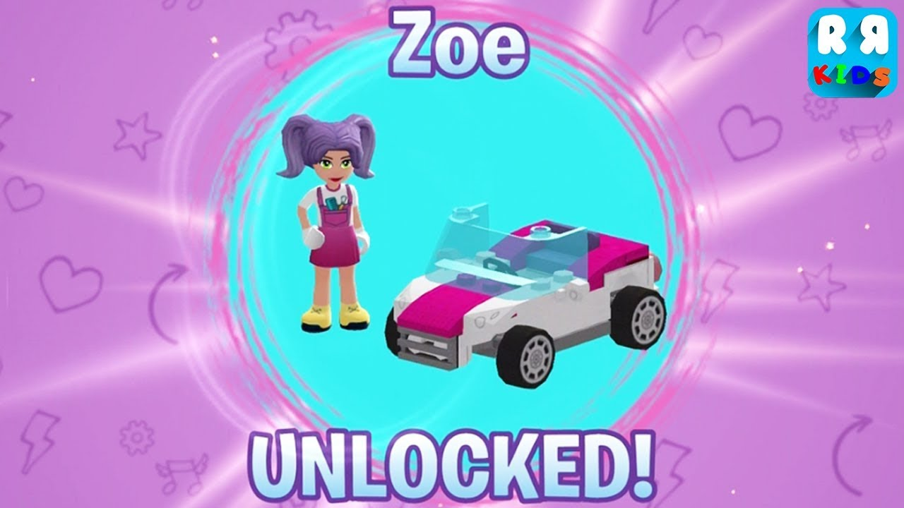 Lego Friends Heartlake Rush New Character Zoe And Lily Youtube