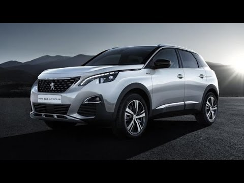 All New 2017 Peugeot 3008 Gt Line Up New 2017 Youtube