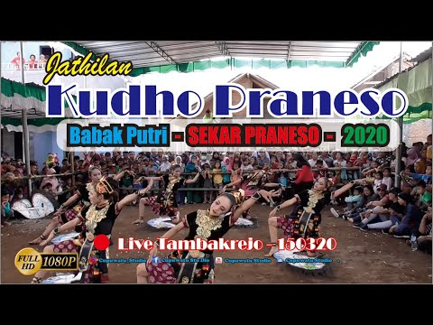 KUDHO PRANESO Babak 2 Putri Live Tambakrejo 150320-Jathilan