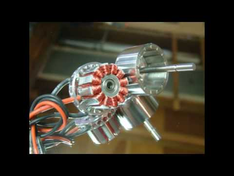 Brushless Motor Construction Youtube