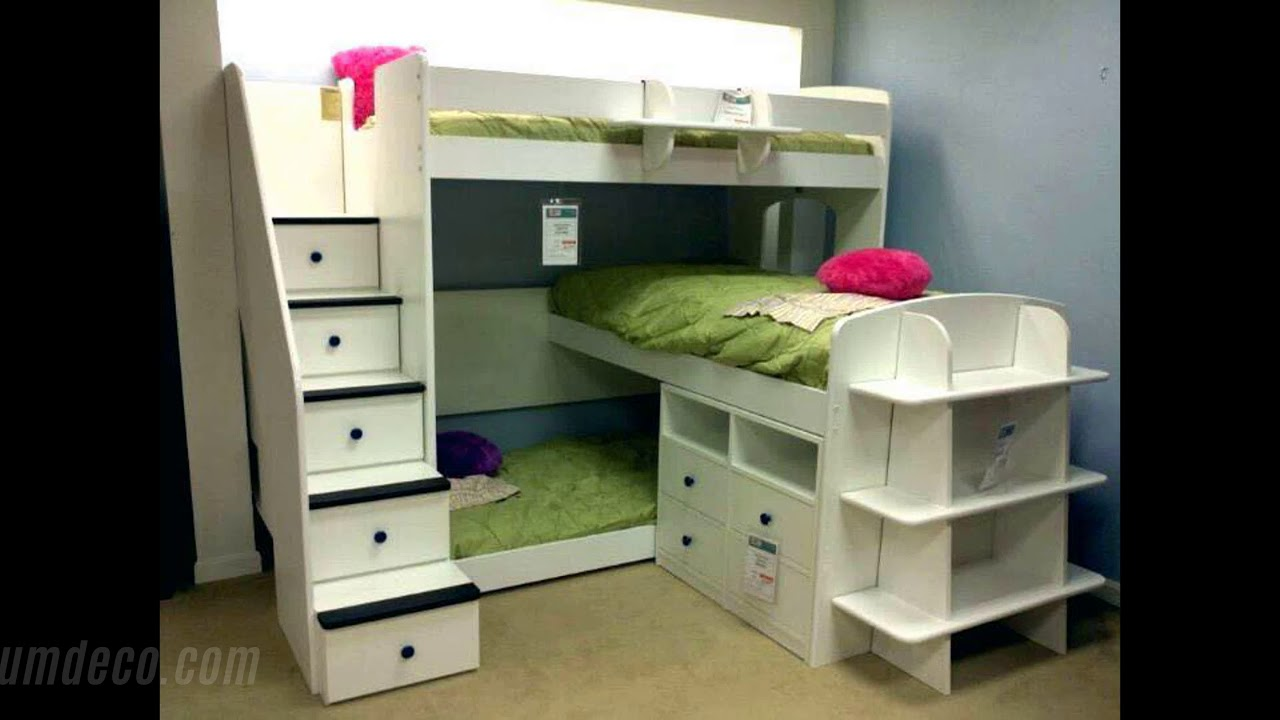 3 beds in one room great ideas to save space amazing ideas home decorating ideas