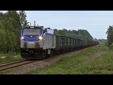 Król na LHS jest jeden - TE33A-9999 z pociągiem rudowym