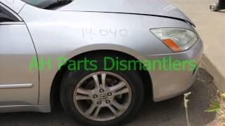 2006 Honda ACCORD 4 Door Sedan Parts Car Parting Out #14-040-1 Fix your car OEM
