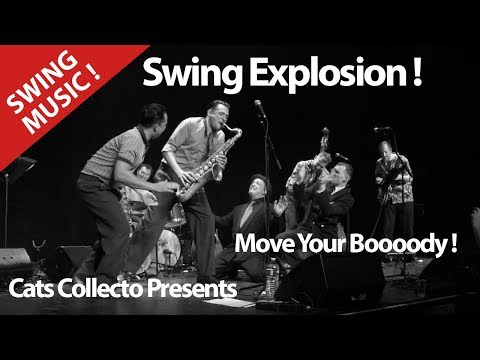 Want To Move Your Body ? Live Session With Big Band ! New Orleans ! Swing Explosion ! Cover