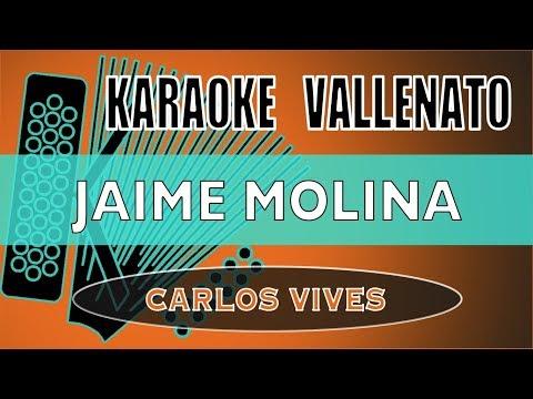 Jaime Molina _ Carlos Vives (KARAOKE VALLENATO)