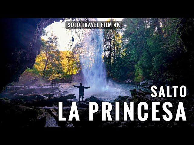 Salto La Princesa en 4K: Malalcahuello - Curacautín, Chile