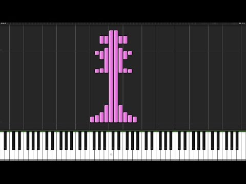 This Game - No Game No Life (Opening) [Piano Tutorial] (Synthesia) // Animenz