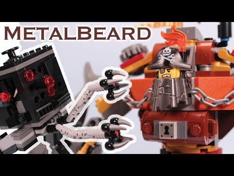 The Lego Movie Metal Beard's Duel Set 70807 Review