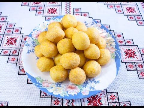 КАРТОФЕЛЬНЫЕ ШАРИКИ или КАРТОФЕЛЬНЫЕ ПАМПУШКИ очень просто Картопляні кульки або картопляні пампушки