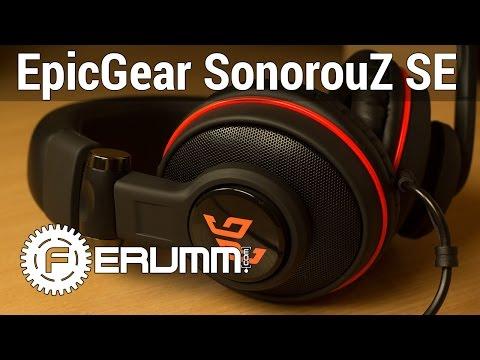 EpicGear Sonorouz SE обзор. Все особенности геймерской гарнитуры EpicGear Sonorouz SE от FERUMM.COMиз YouTube · С высокой четкостью · Длительность: 4 мин10 с  · Просмотры: более 3.000 · отправлено: 7-5-2015 · кем отправлено: FERUMM.COM