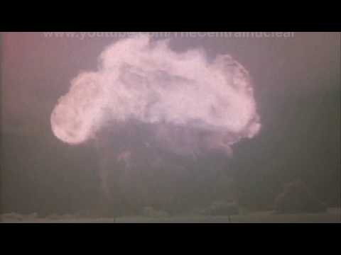 First Soviet hydrogen bomb test Joe-4 (1953)