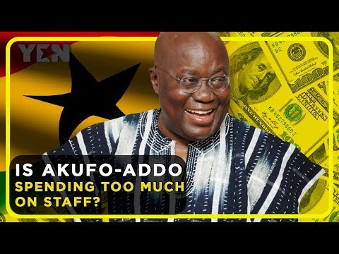Ghana trends: Is President Akufo-Addo Spending Too Much On Staff in 2018? | Yen.com.gh