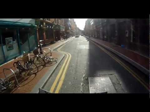Moto Vlog - Dublin City Streets