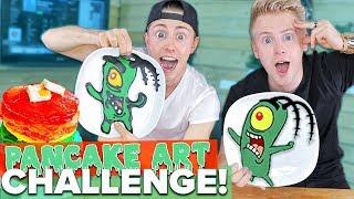 Pancake Art Challenge - mit Bruder !! 😍🥞 II RayFox