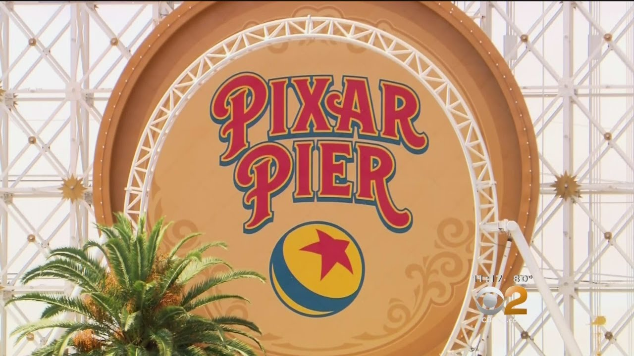 Pixar Pier Opens At Disneyland Today