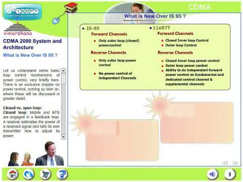 W 2.2  CDMA evolution from 2G to 3G-- What is new in CDMA 2000 over IS 95