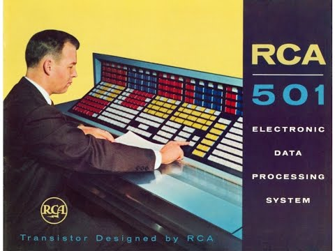 Vintage RCA Computers - A Brief Look at the RCA 501 - History Archives