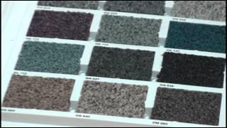 видео Плиточный ковролин