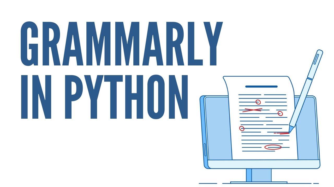 A Simple Spelling & Grammar Checker using Python