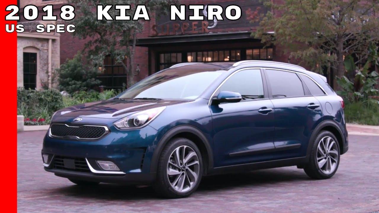 2018 Kia Niro Hybrid Touring Us Spec Exterior Interior Test Drive