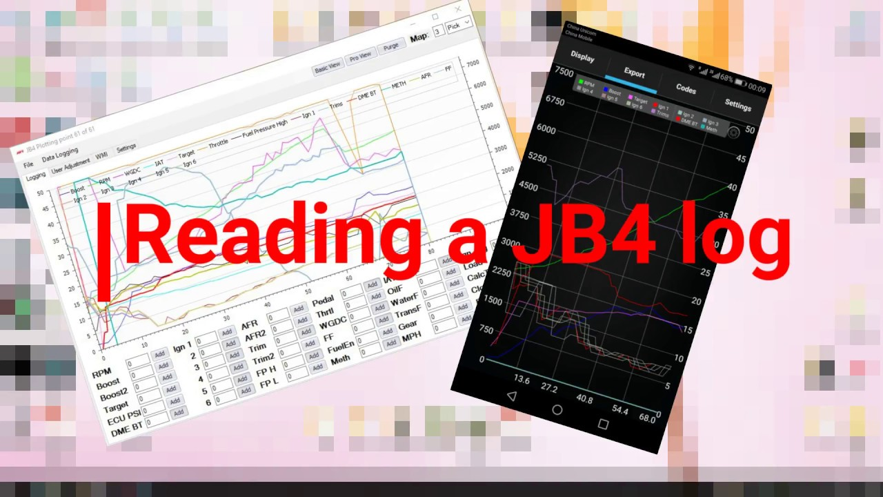 Reading your JB4 log - the