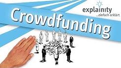 Crowdfunding einfach erklärt (explainity® Erklärvideo)