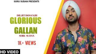Glorious gallan Diljit Dosanjh -Cover By Soru Sudan / Punjabi Song
